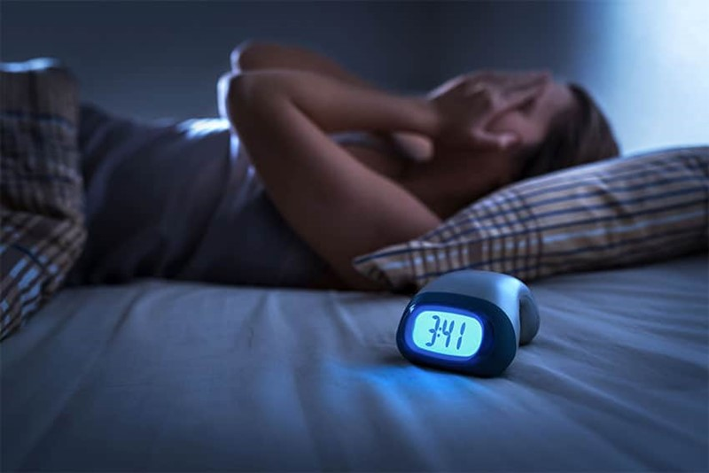 Sleeping pattern