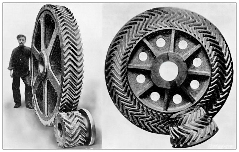Titanic gears