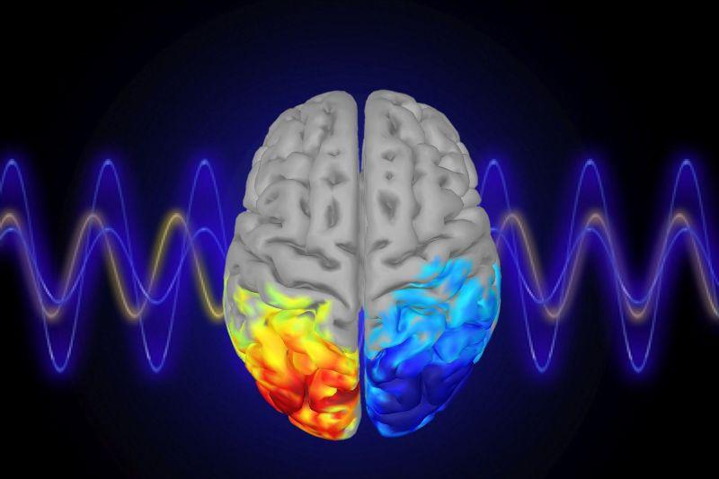 Alpha waves for brain
