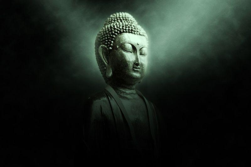 Buddha for big bang