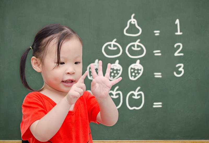 Cognitive kid counting