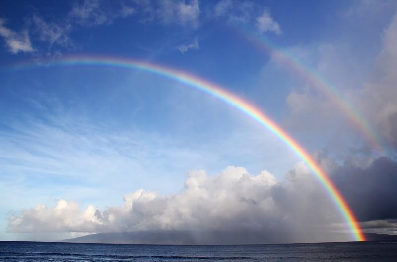 Curvature of rainbow