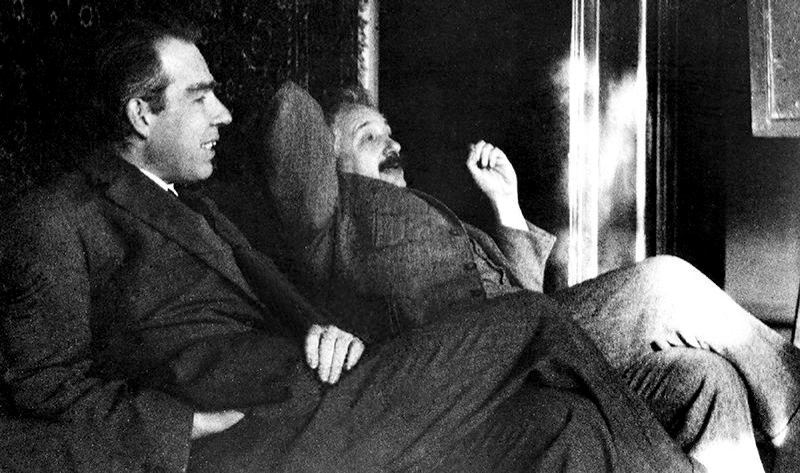 Einstein and Bohr