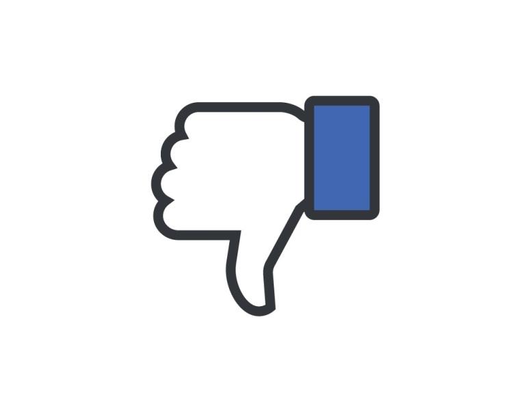 Facebook bad down