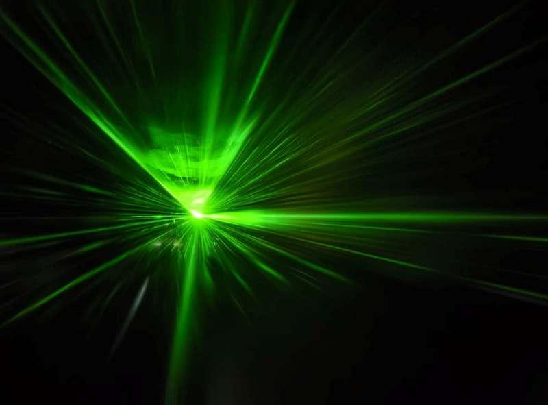 Laser green beam