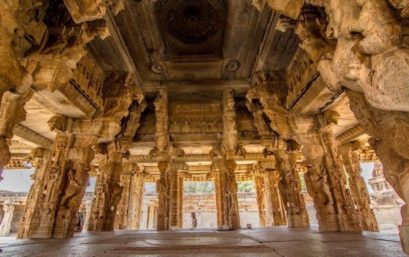 Pillar inside