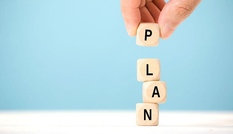 Planning of Dice