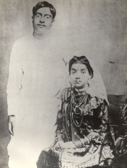 S bose and wife