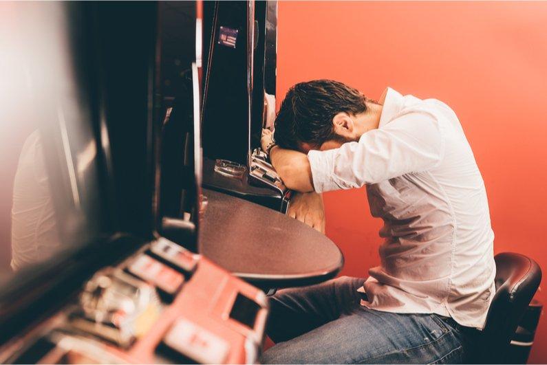 Sad gambling Sad