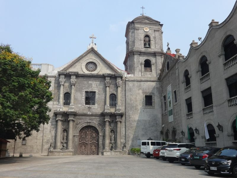 Architecture of San Agustin Church