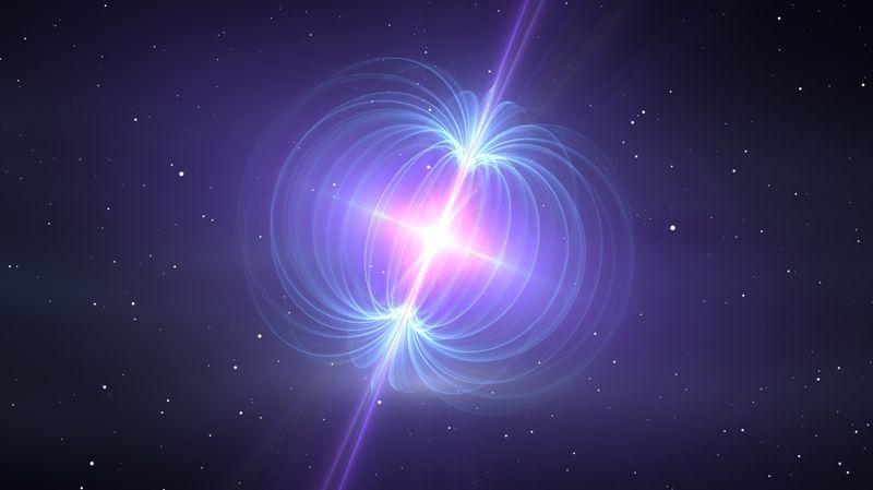 Magnetar magnetic waves