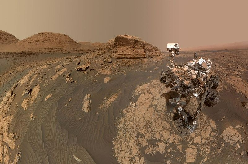 Mars surface rover