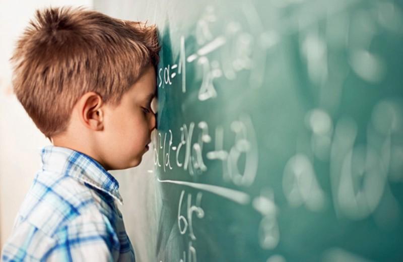 Math struggle cover