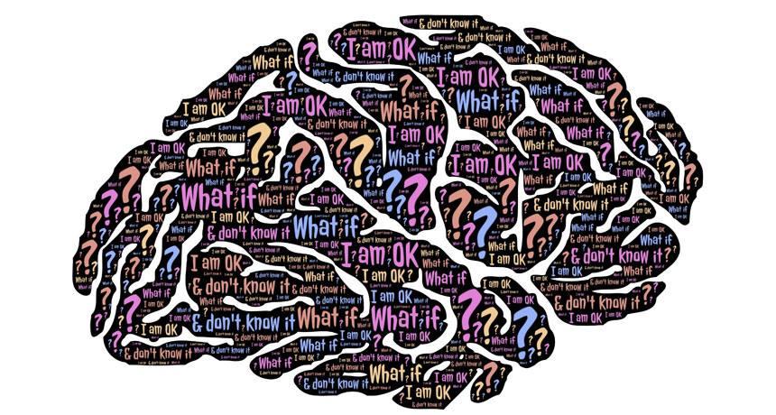 Stress brain cover