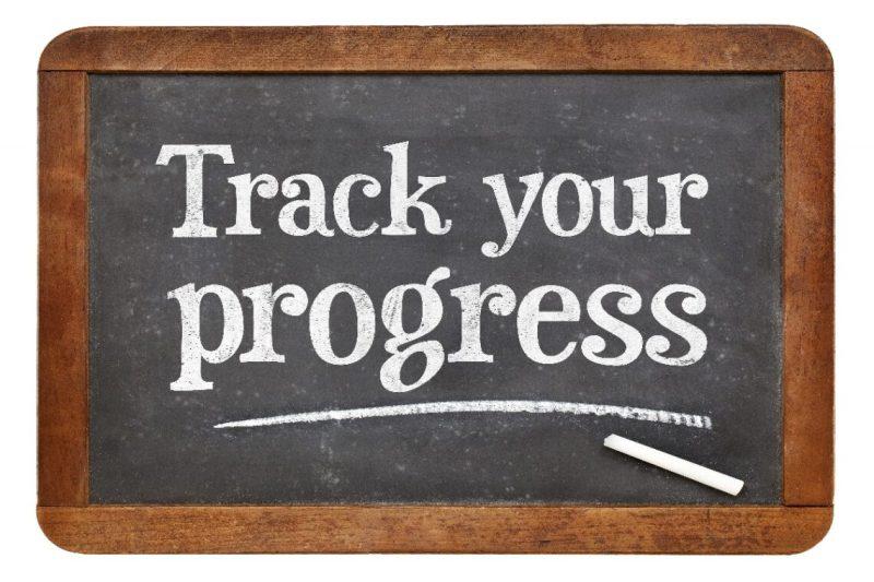 Track your progress.